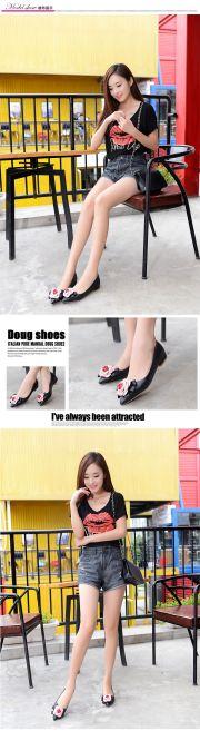 女鞋货源日韩版风格女鞋批发微信代理一件代发货