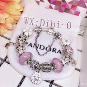 潘多拉专柜一比一货源 高品质原单潘多拉经典猫眼石项链配件手链