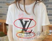 淘宝上新的一款短袖,印花是LV图案,标题没有填写LV任何的标志,算违规吗?